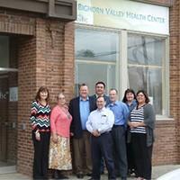 Big Horn Valley Center team